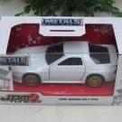 JADA 1/32 Diecast Car JDM Tuners 1985 MAZDA RX - 7 (FC) White JAPAN Car