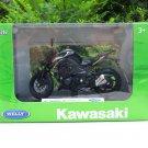 Welly 1/18 Diecast Motorcycle Kawasaki Z1000 R Edition 2017 Super Bike (Black)