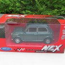 Welly NEX (11cm) Die cast Car 1974 Mini Cooper 1300 (Green with Black Top) Classics Car