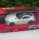 Welly NEX (11cm) Diecast Car Model 2018 Mercedes AMG GT R White Sports Car