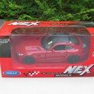 Welly NEX (11cm) Diecast Car Model 2018 Mercedes AMG GT R Red Sports Car