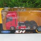 Welly 1-32 Die Cast Car Model Lorry Model MAN TGX 440 (6x4) 6 WHEEL TRACTOR UNIT TRUCK Red