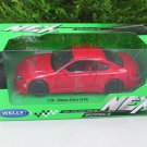 Welly 1-24 Diecast Car Model  Nissan Silvia (S15) Spec R Aero 200SX Japan Car Red