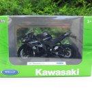 Welly 1/18 Diecast Motorcycle Kawasaki Ninja ZX-10RR 2017 Super Bike (Black)