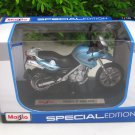 Maisto 1/18 Special Edition Diecast Motorcycle BMW F 650 GS (Blue) 2011