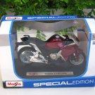 Maisto 1/18 Special Edition Diecast Motorcycle Honda VFR1200F (Maroon) 2010