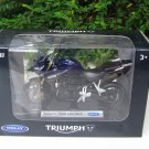 Welly 1/18 Diecast Motorcycle TRIUMPH TIGER EXPLORER (2012) Blue Black