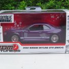 JADA 1/32 Diecast Car JDM Tuners 2002 Nissan Skyline GT-R (R34) Purple JAPAN Car
