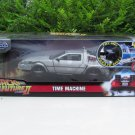 JADA 1/24 Delorean Time Machine Back To The Future II Flying Diecast Movie Car (With Light)