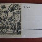 Old German postcard, Feldpost