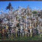 Šiauliai, The Hill of Crosses postcard