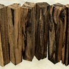 Black & White Ebony Wood 3/4x3/4x5.5 Lumber Woodturning Pen Blanks Shipped Free