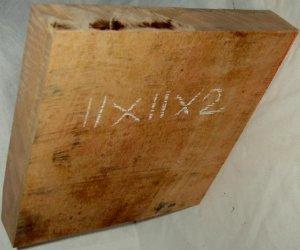 MANGO Wood Lumber Platter Blank 11x10x2 For Game Calls Handles SHIPPED FREE