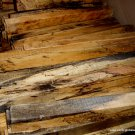 SPALTED TAMRIND WOOD 2x2x18 LUMBER FOR POOL CUES WOODTURNING GUN~KNIFE HANDLES
