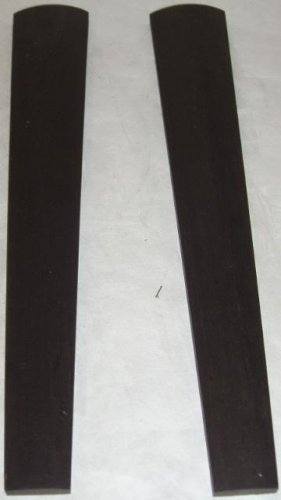 Two 4/4 Violin Gabon Ebony Fingerboards For Violins AAA Quality Free Shipping
