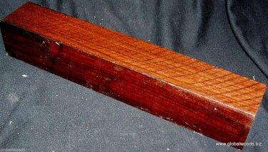 Bolivian Rosewood Turning Stock 2x2x12 Lumber Woodturning Pool Cues Knife Grips