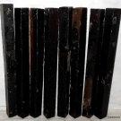 8 GABON EBONY Wood 1x1x12 Turning Stock For Magic Wands Photo Frame SHIPPED FREE