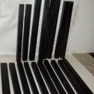 GABON EBONY Wood Turning Stock Lot of 18 Pc Magic Wands Photo Frames Drum Sticks