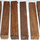 25 Bocote Pen Blanks Woodturning 3/4x3/4x5 Letter Openers Hair Sticks Key Chains