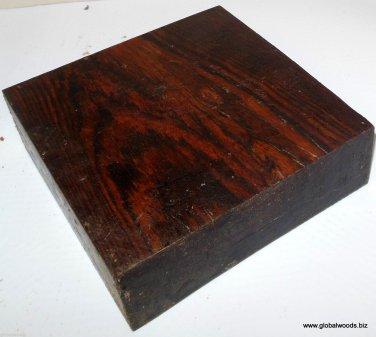 Bocote Wood Turning Stock Peppermills Pool Cues 1911 Grips Handles Game Calls