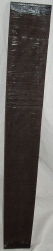 Luthiers Tonewood Guitar Fingerboard Ebony Wood 500x69x9mm Gaboon Ebony Lumber