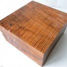Olivewood  6x6x3 Italian Import Bowl Blank Woodturning Handles Pool Cue Making
