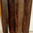 4 Cocobolo Wood 1.5x1.5x12 Lathe Woodworking Tool Handles Cues Turkey Game Calls