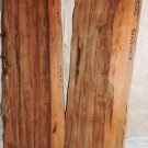 Two Red Gum Wood Boards Lumber Book Shelves Cabinet Making Fine Furnitures Inlay