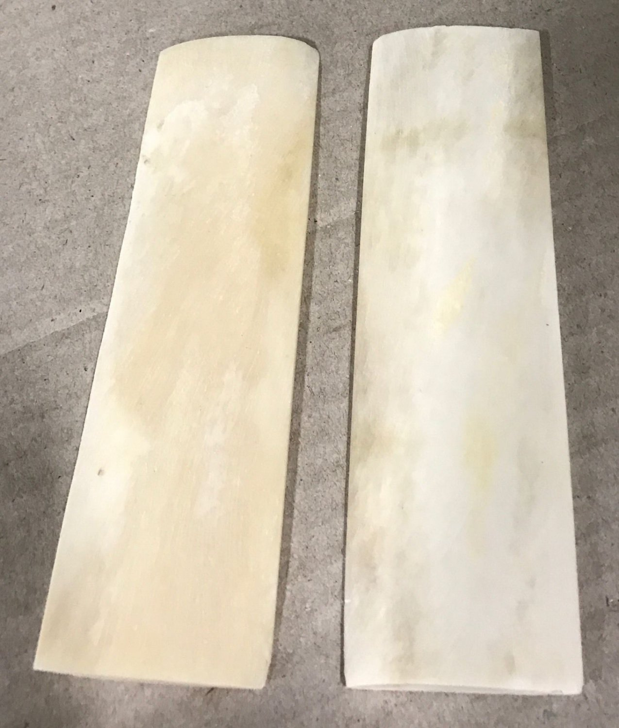 Camel Bone Knife Scales Natural Bone Knife Handles 5x1.5x.20 For Hunting Knives