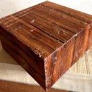 Zebrawood Lumber Woodturning Bowl Blank 6x6x3 Game Calls Knife Scales Reel Seats