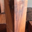 Globalwoods Patagonian Reed Rosewood 3x3x12 Turning Stock Woodworking Timber