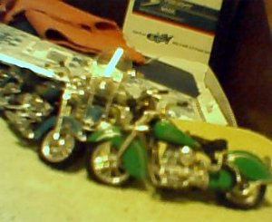 Lot of 4 Collectors Motorcycles
