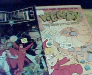 Deathmate (blue foil, oct. issue) and Wendy # 12