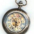 Steampunk DELUXE SHERLOCK Pocket Watch Mechanical Chain