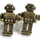 Steampunk MR ROBOT Cufflinks Retro Geekery Toy Robo AB