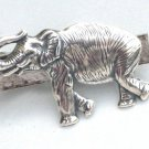 Steampunk STOMPPING ELEPHANT Men's Tie Bar Clip pin AS