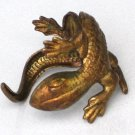 Steampunk LIZARD RING Dragon Wrap Around Your Finger AB