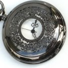 Steampunk VICTORIAN LACE Pocket Watch Chain Necklace