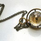 Steampunk Harry Potter TIME TURNER Necklace - Pocket Watch