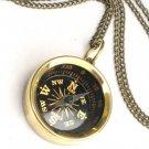 Steampunk MYSTICAL  NAVIGATOR - COMPASS Necklace Pendant