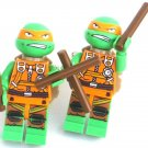 MICHELANGELO Men's Cufflinks - Minifigure - Lego® - Teenage Mutant Ninja Turtles