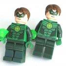 GREEN LANTERN Men's Cufflinks - Minifigure - Lego® - DC Comics - Geekery