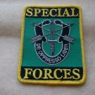 SPECIAL FORCES LOGO PATCH