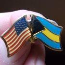 BAHAMAS/USA FLAG PIN
