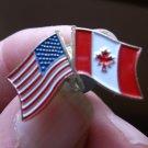 CANADA/USAFLAG PIN