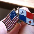 PANAMA/USA FLAG PIN