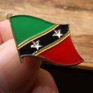 ST KITTS FLAG PIN