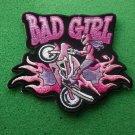 Bad Girl Wheeley Biker Patch