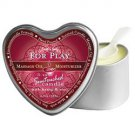 3-in-1 Heart Shaped Massage Candle Firts Kiss 4.7oz : EB1023-2