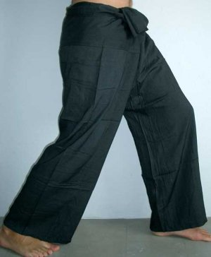 c1f82c8e38b95 Thai Fisherman Pants Casual Asian Yoga Trousers FREESIZE Rayon ...